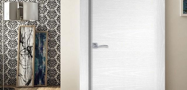 puerta lacada roble tinte en Zaragoza