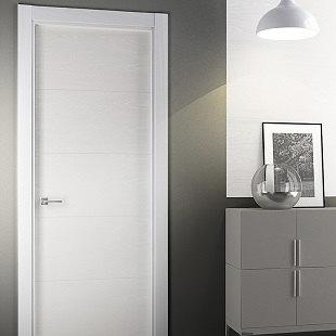 puerta lacada roble
