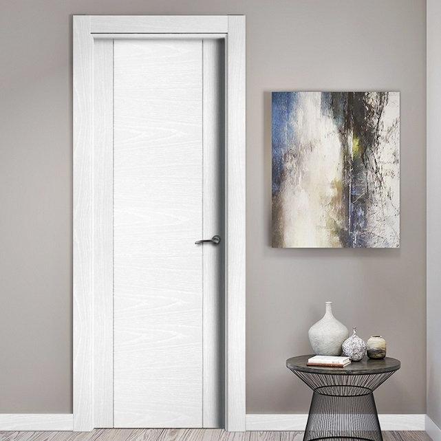puertas lacadas roble tinte en zaragoza