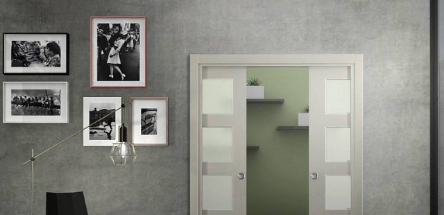 puerta roble tinte